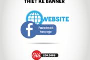 Thiết kế Banner Facebook, Banner Website giá rẻ nhất HCM