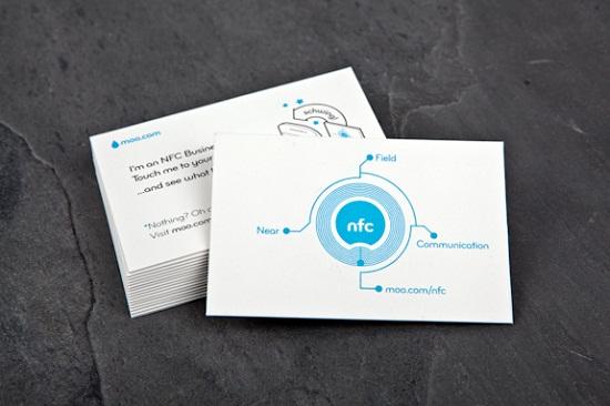 Card visit có tích hợp kết nối NFC