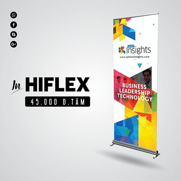 Bảng giá in PP – Hiflex nhanh, đẹp, giá rẻ nhất tại TPHCM