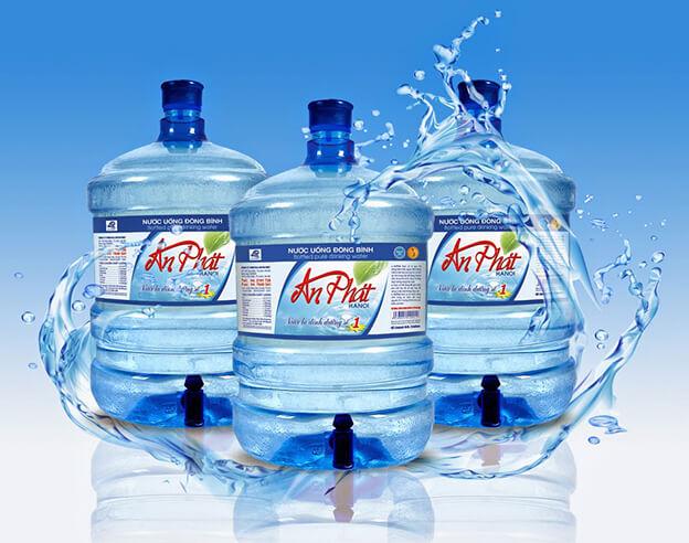 in nhãn decal chai nước suối, bình nước giá rẻ tại TpHCM