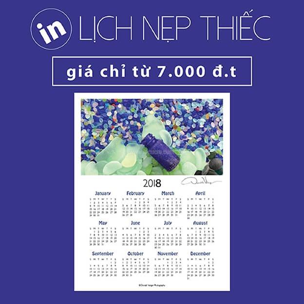 Báo giá in lịch tết năm mới 2021 rẻ nhất HCM