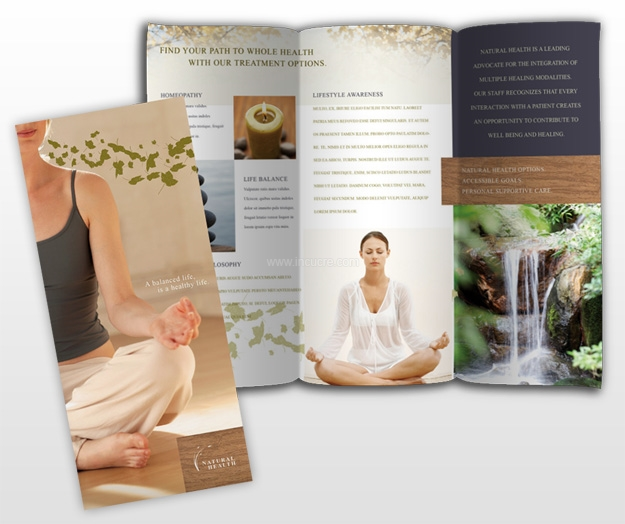 natural-organic-health-center-brochure-template