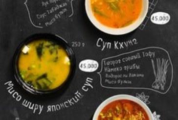 Hình ảnh – linh hồn của thiết kế menu