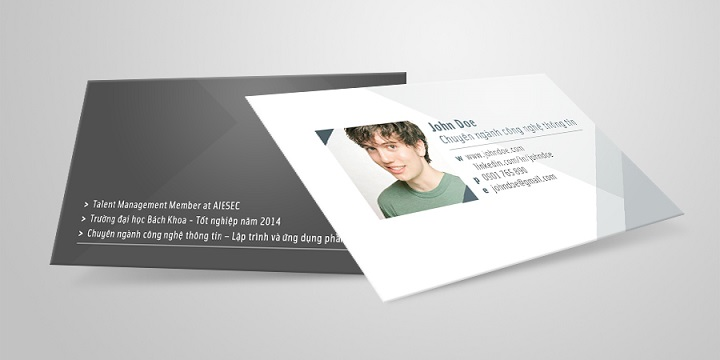 Kích thước name card chuẩn trong thiết kế chuyên nghiệp