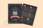 Tạo thiết kế menu ấn tượng có khó không?