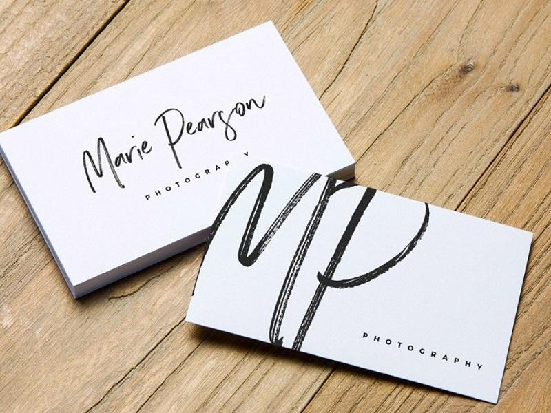 Thiết kế card visit – thể hiện sự đẳng cấp và chuyên nghiệp