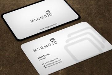 Hướng dẫn những mẹo thiết kế card visit đẹp và lạ nhất